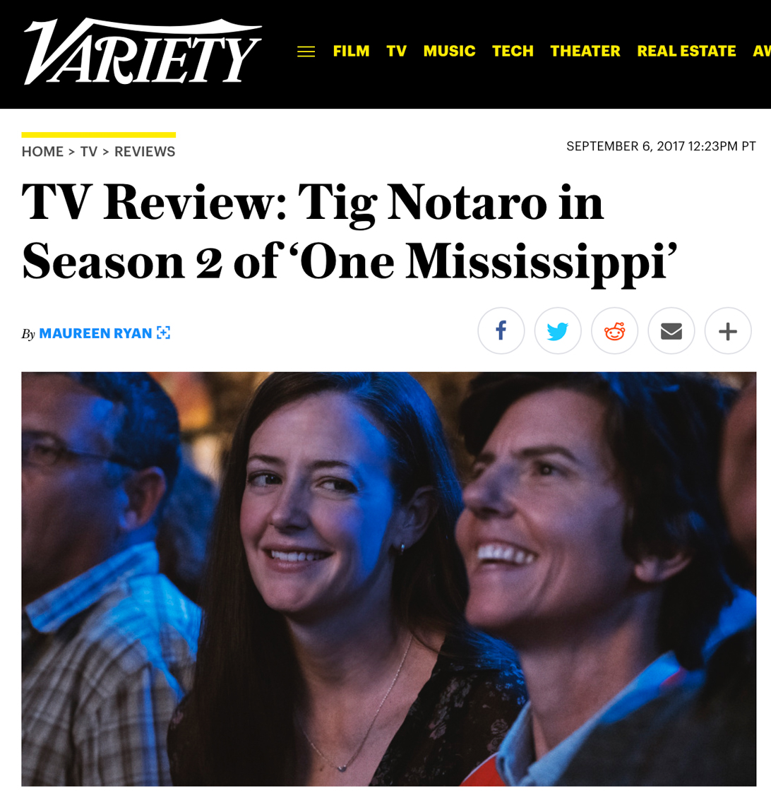 Variety: One Mississippi